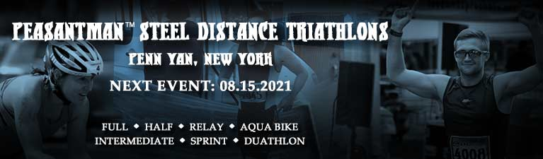 Welcome to Peasantman Steel Distance Triathlons